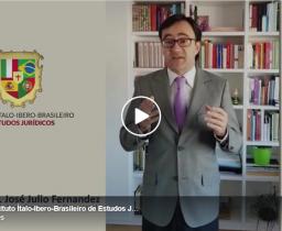 O Professor José Julio Fernandez, da Universidade de Santiago de Compostela, convida a todos para o 2° Webinário IIB