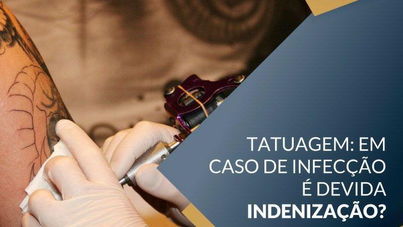 Tatuagem: Em caso de infecção...